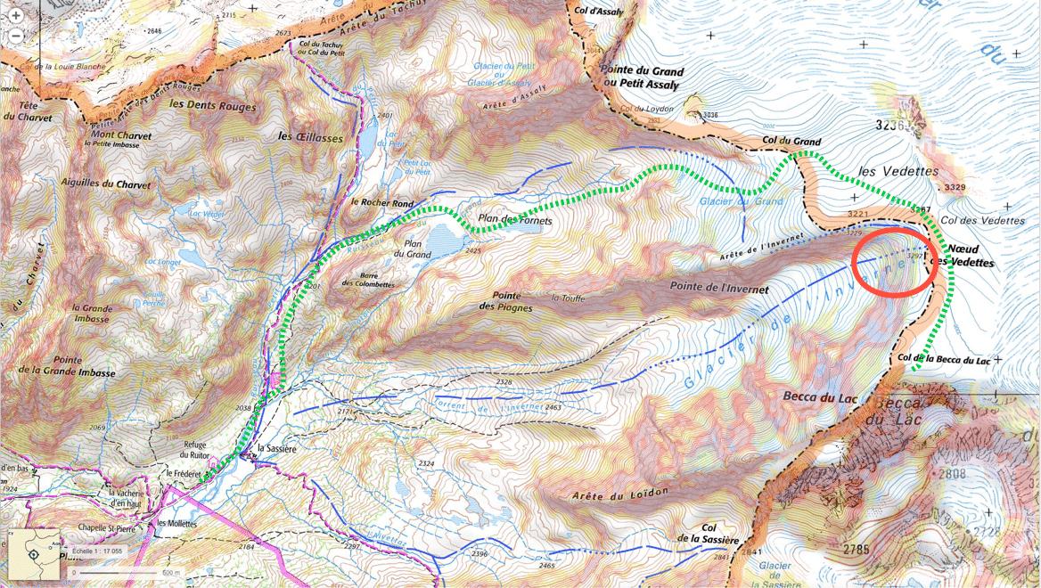 itinéraire prévention avalanche
