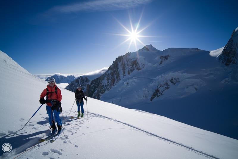 Skis col du Dôme