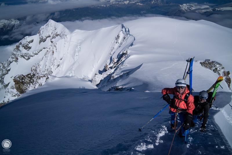 Mont Blanc arête des bosses